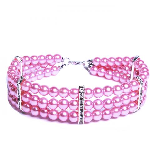 Ожерелье Розовый жемчуг