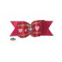 Одежда для собак | Бантик красный - Сердечко