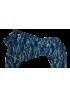 Зимний комбинезон Доберман мальчик (камуфляж синий)