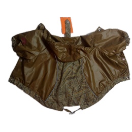 Куртка для собак HAPPY PUPPY Самоцветы бронза (Вест хайленд уайт терьер)
