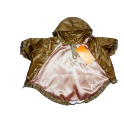 Куртка для собак HAPPY PUPPY Самоцветы бронза