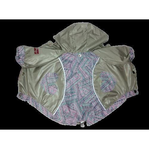 Куртка для собак HAPPY PUPPY Самоцветы серая (Шпиц,Пудель карликовый)