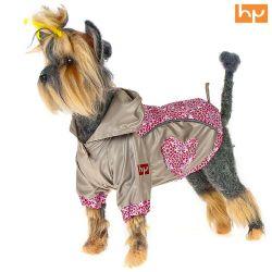 Куртка для собак HAPPY PUPPY Самоцветы розовая (Шпиц,Пудель карликовый)