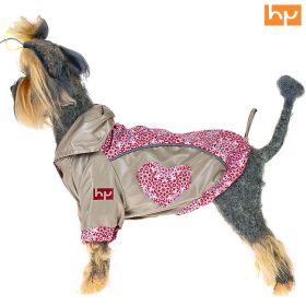 Куртка для собак HAPPY PUPPY Самоцветы розовая