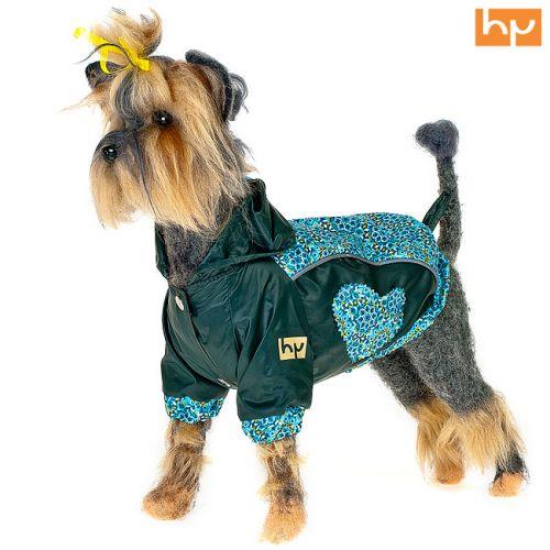 Куртка для собак HAPPY PUPPY Самоцветы зеленая (Шпиц померанский,Чихуахуа)