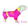 """Дождевик  """"Juicy Couture""""  розовый Dogs Bomba."""