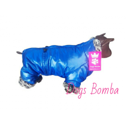 "Комбинезон зимний ""Зима""синий Dogs Bomba."